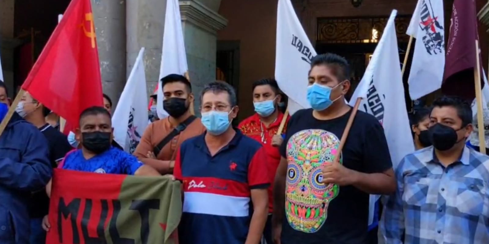 Organizaciones sociales ven en detención de ex jefe policiaco una farsa   El Imparcial de Oaxaca