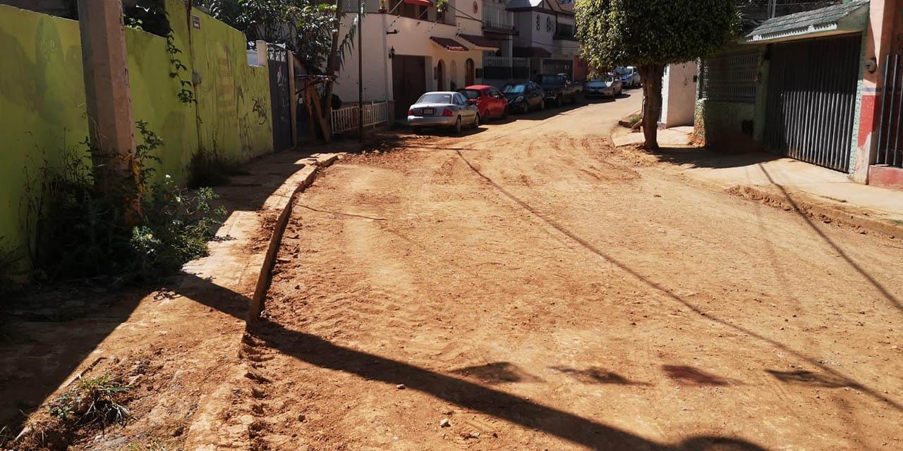 Reabren la calle de Genaro V. Vázquez | El Imparcial de Oaxaca
