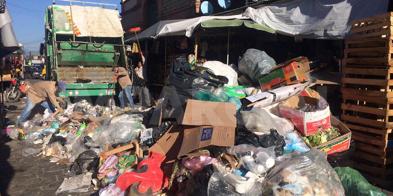 Reanudan recolección de basura; Sindicato 3 de Marzo da ultimátum a edil   El Imparcial de Oaxaca