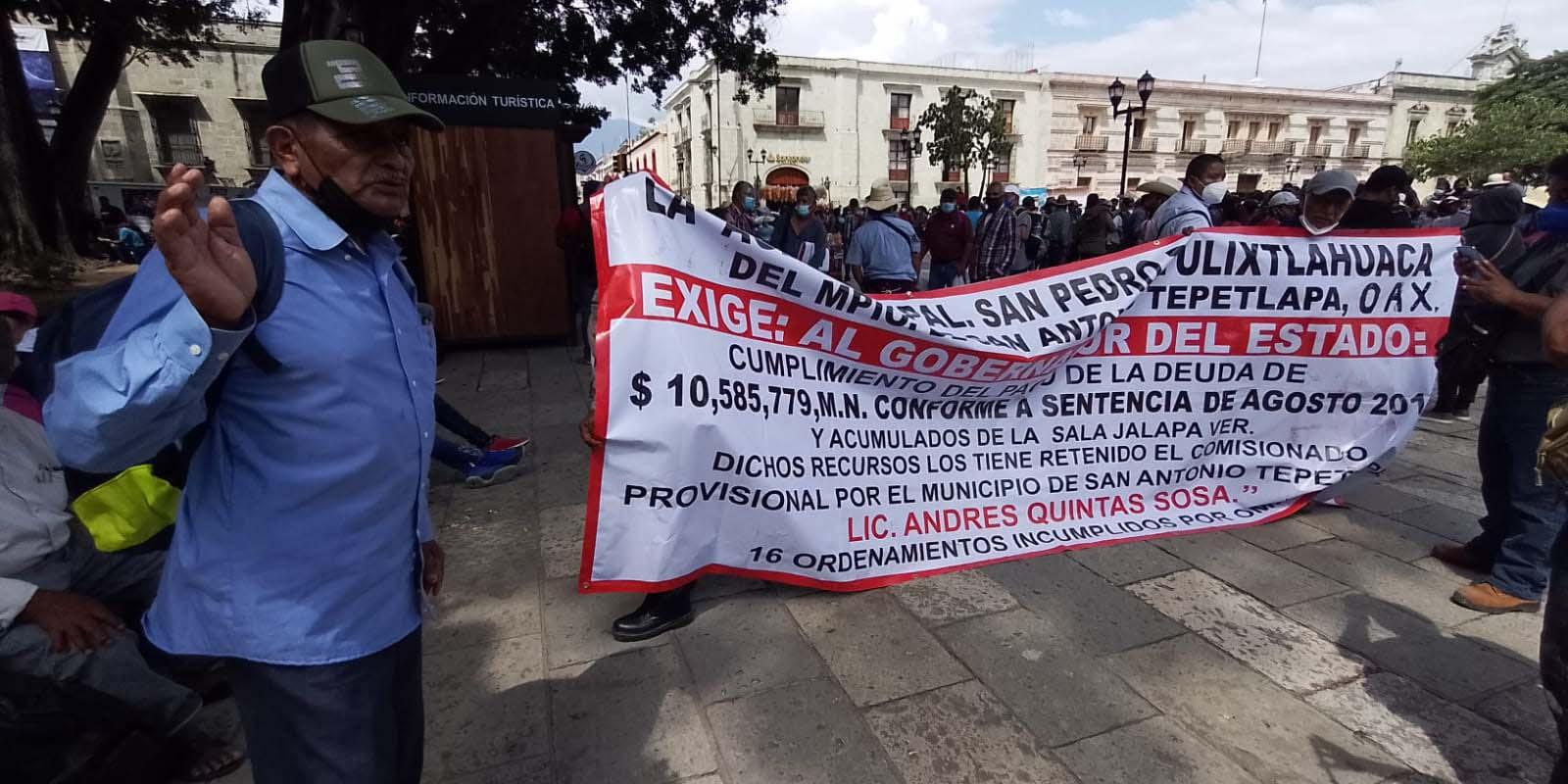 Pide Tulixtlahuaca entrega de sus participaciones municipales   El Imparcial de Oaxaca