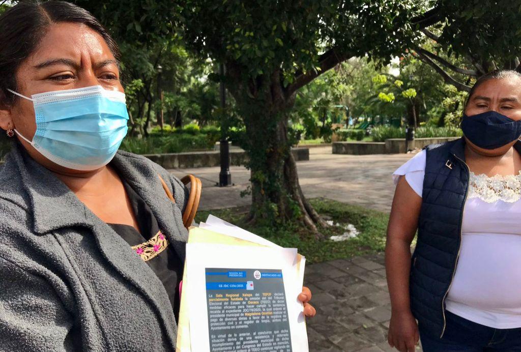 Regidoras de Magdalena Ocotlán denuncian violencia política
