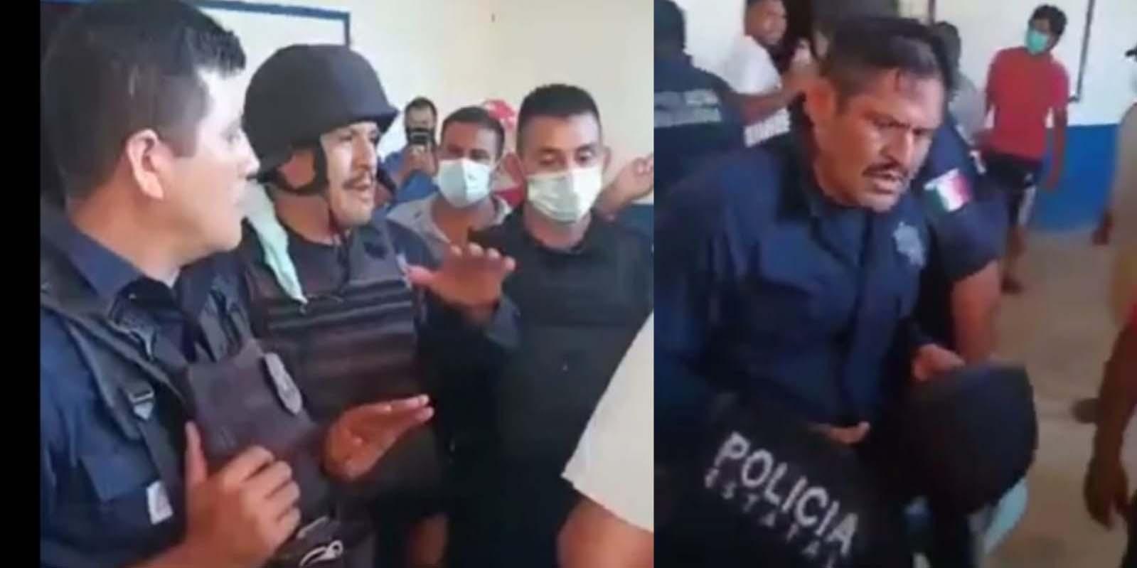 Siguen retenidos policías estatales y funcionarios en Jocotepec | El Imparcial de Oaxaca