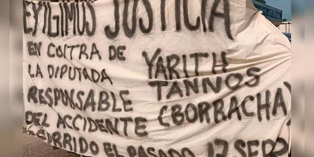Incumple Yarith Tannos  con víctimas de accidente | El Imparcial de Oaxaca
