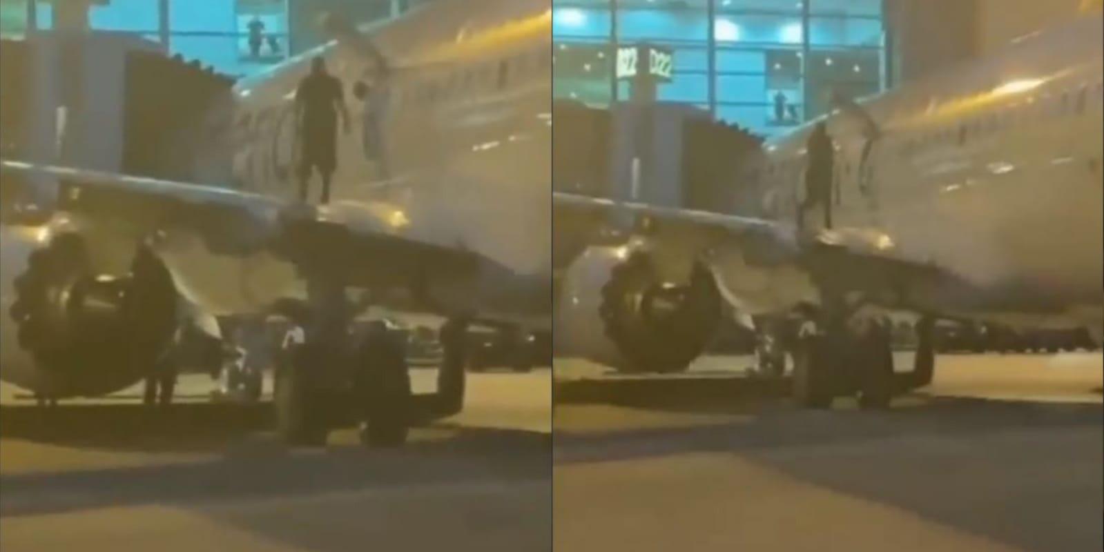 Video: Pasajero abre la puerta del avión porque 'necesitaba aire' | El Imparcial de Oaxaca
