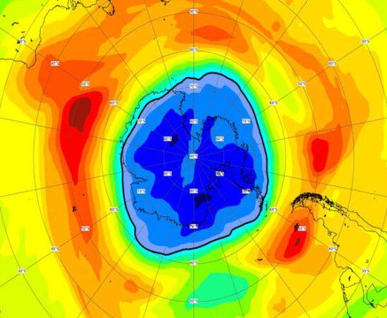 Agujero de la capa de ozono crece, su dimensión ahora es mayor a la Antártida