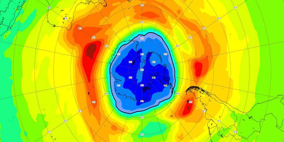 Agujero de la capa de ozono crece, su dimensión ahora es mayor a la Antártida | El Imparcial de Oaxaca