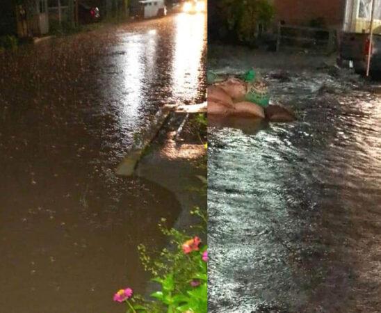 Onda tropical número 30 genera lluvias en Oaxaca