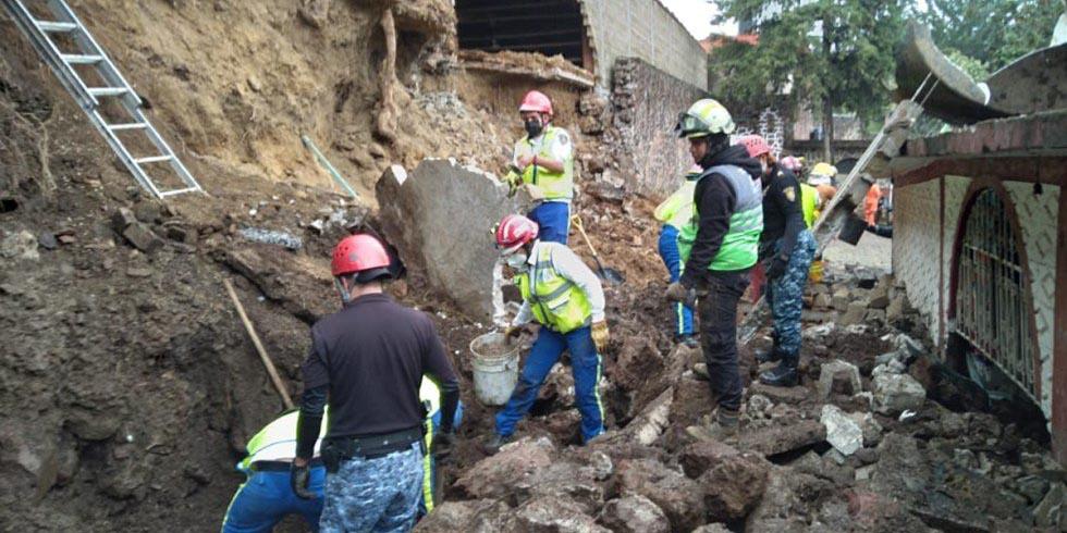 Barda colapsa y afecta refugio 'Milagros Caninos': 3 perritos murieron y van rescatando 5 con vida | El Imparcial de Oaxaca
