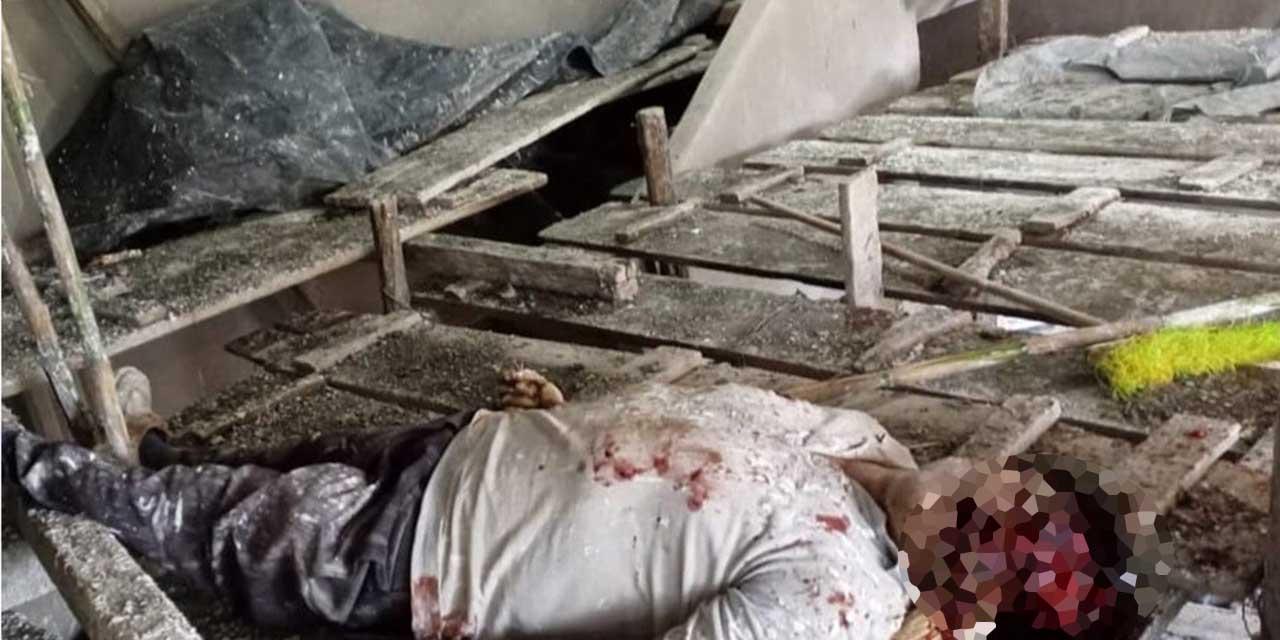 ¡Asesinado a barretazos! | El Imparcial de Oaxaca