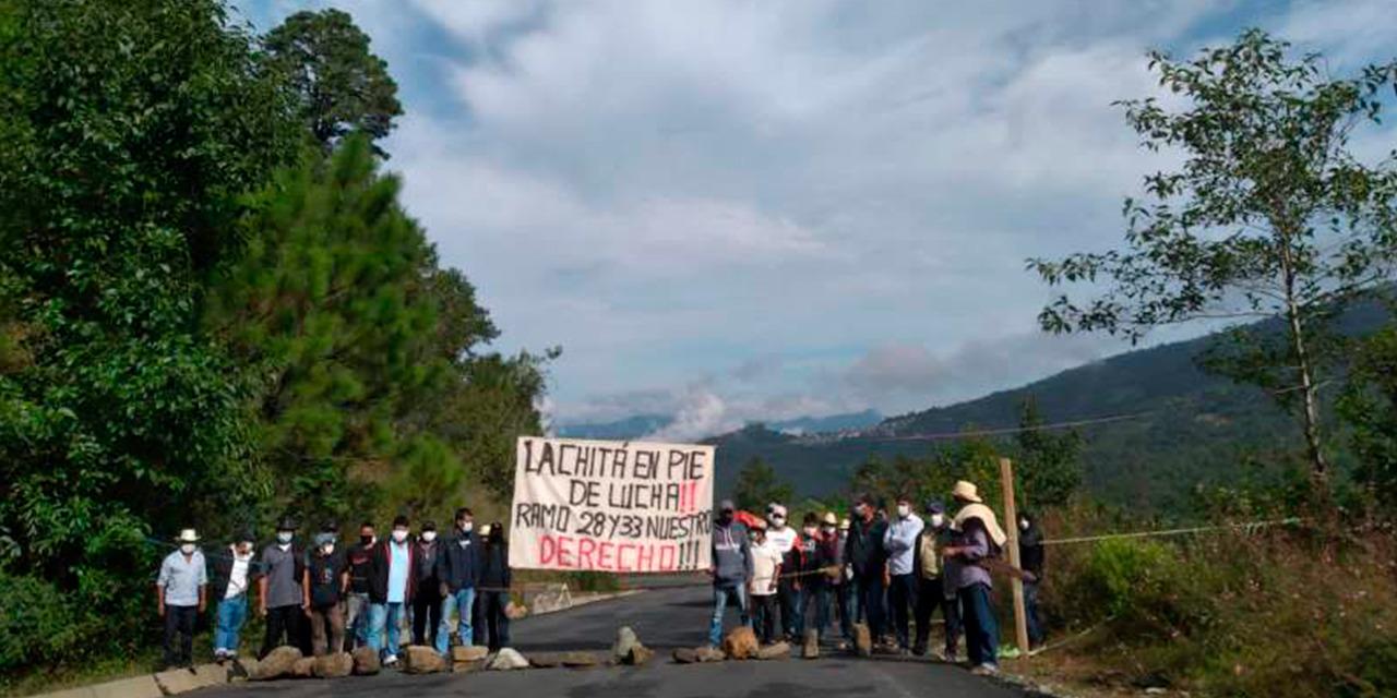 Cierran habitantes de Lachitá carretera en Villa Alta | El Imparcial de Oaxaca