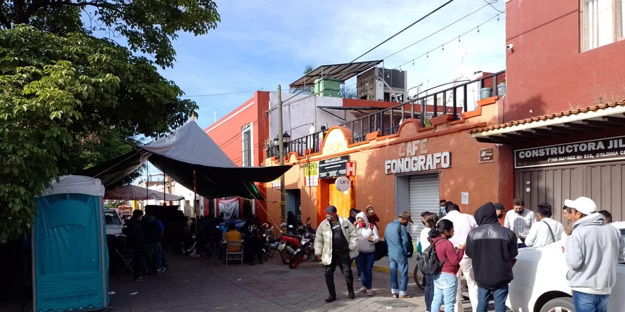 Durará 48 horas la manifestación de Sector Salud | El Imparcial de Oaxaca
