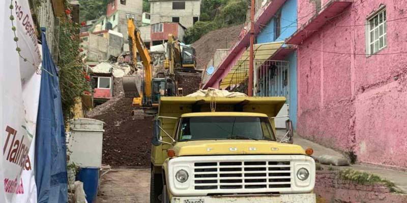 Inicia la demolición de viviendas en el Cerro del Chiquihuite | El Imparcial de Oaxaca