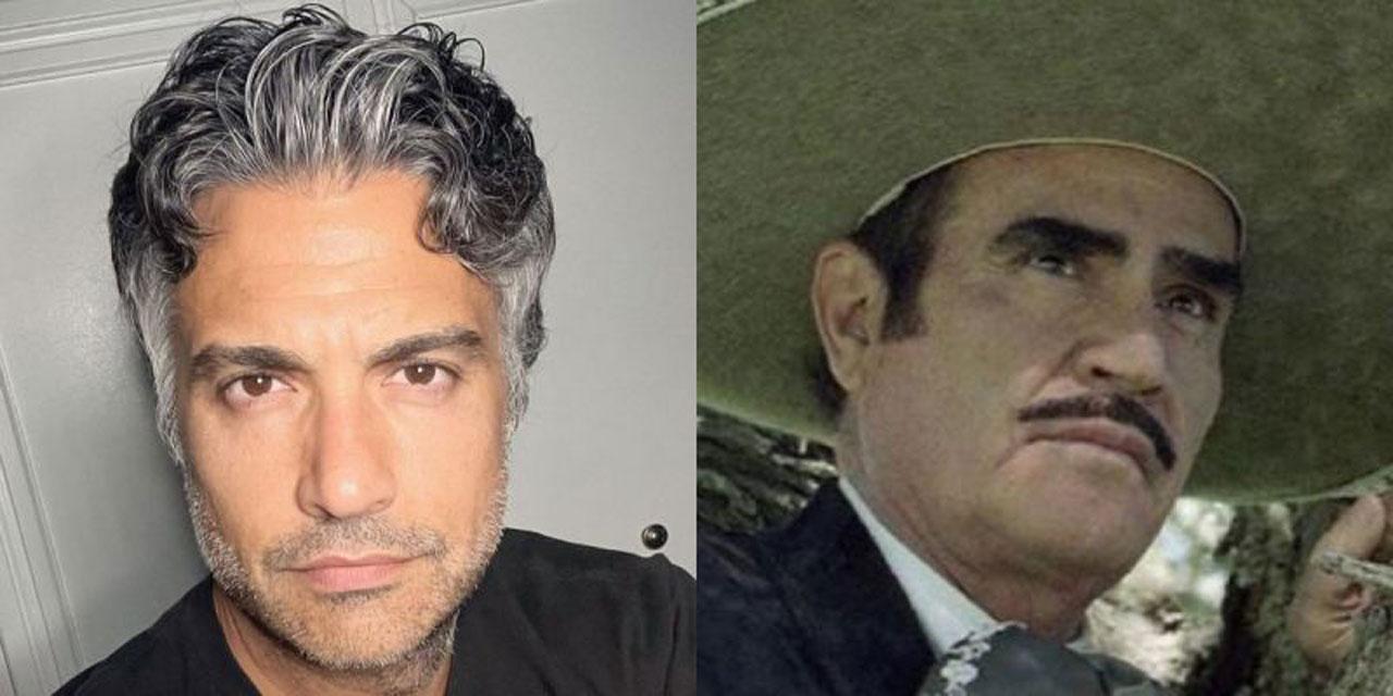 Jaime Camil será Vicente Fernández en bioserie; así luce como 'Don Chente' | El Imparcial de Oaxaca