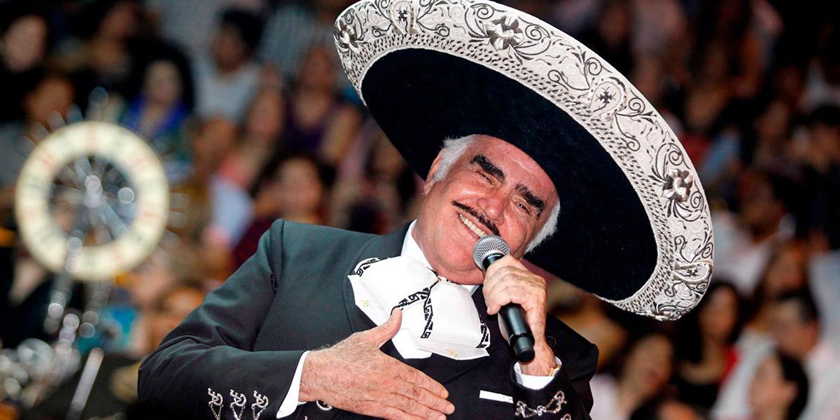 Vicente Fernández espera que lo despidan con esta canción | El Imparcial de Oaxaca