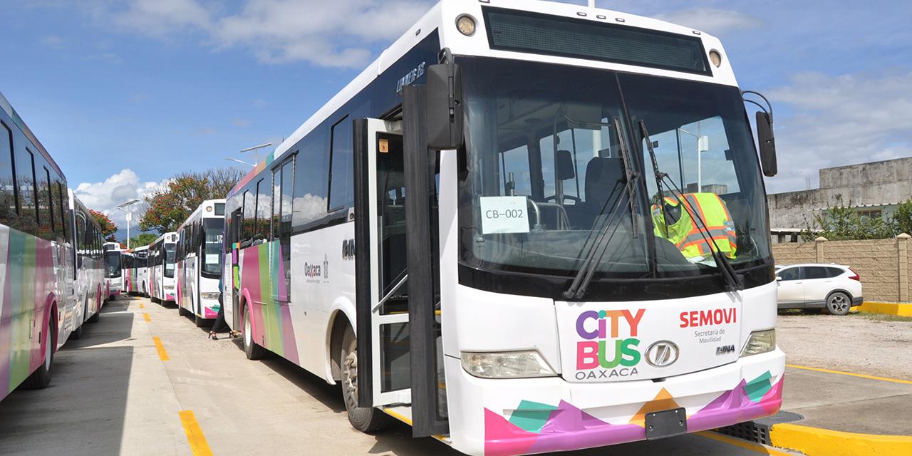 Inicia el CityBus fase pre operativa; 9 rutas en 2021