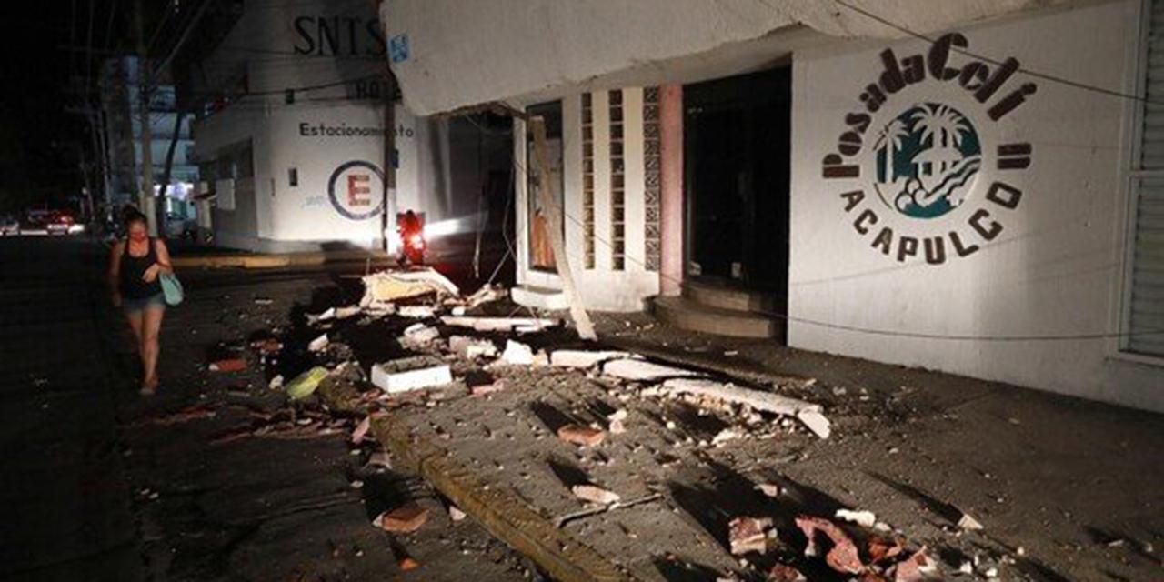 Gobierno de Guerrero reporta una persona fallecida tras Sismo de 7.1 | El Imparcial de Oaxaca