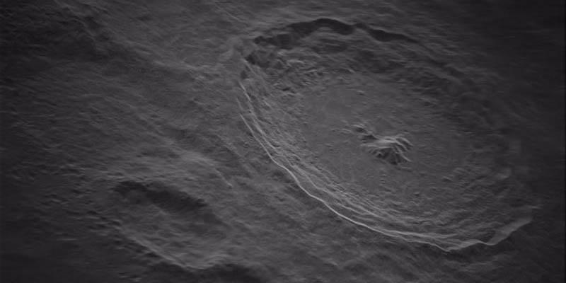 Revelan la foto del cráter lunar Tycho; así luce la imagen con alta resolución | El Imparcial de Oaxaca