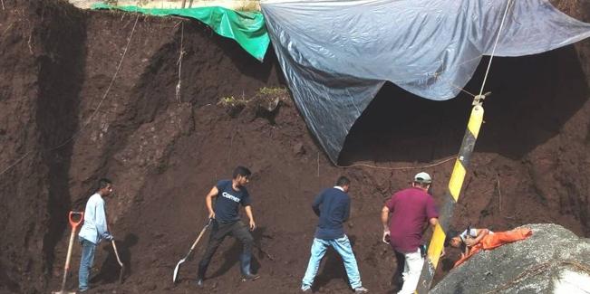 Por derrumbe en Hidalgo, mueren dos albañiles sepultados | El Imparcial de Oaxaca