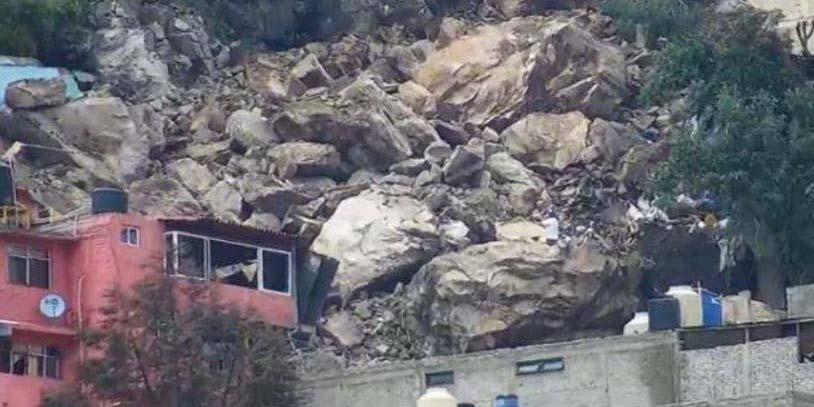 Gobierno Instala albergues tras el derrumbe en Cerro del Chiquihuite | El Imparcial de Oaxaca