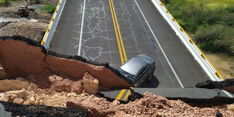 Se desploma puente vehicular en San Luis Potosí, fallece mujer y deja varios heridos   El Imparcial de Oaxaca