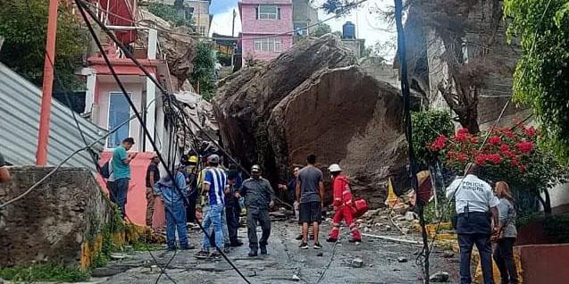 Hasta el momento, solo una hay persona muerta tras desgajamiento en Cerro del Chiquihuite | El Imparcial de Oaxaca