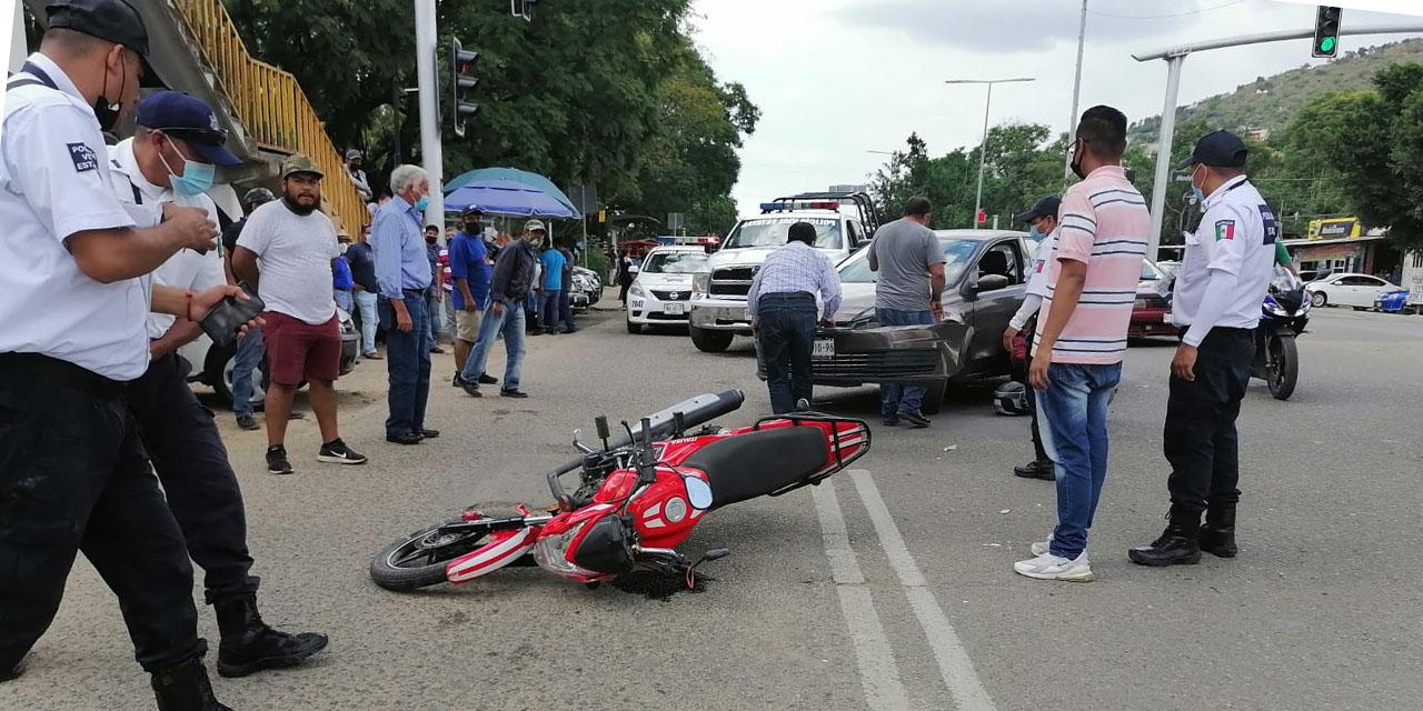 Conductor arrolla a motociclista en carretera Oaxaca-México   El Imparcial de Oaxaca
