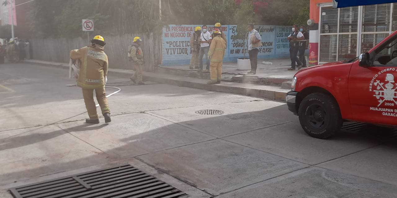 Incendio moviliza a bomberos en Huajuapan | El Imparcial de Oaxaca