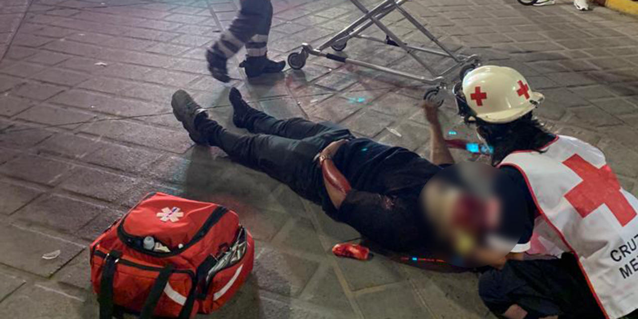 Motociclista derrapa y se lesiona el cráneo | El Imparcial de Oaxaca