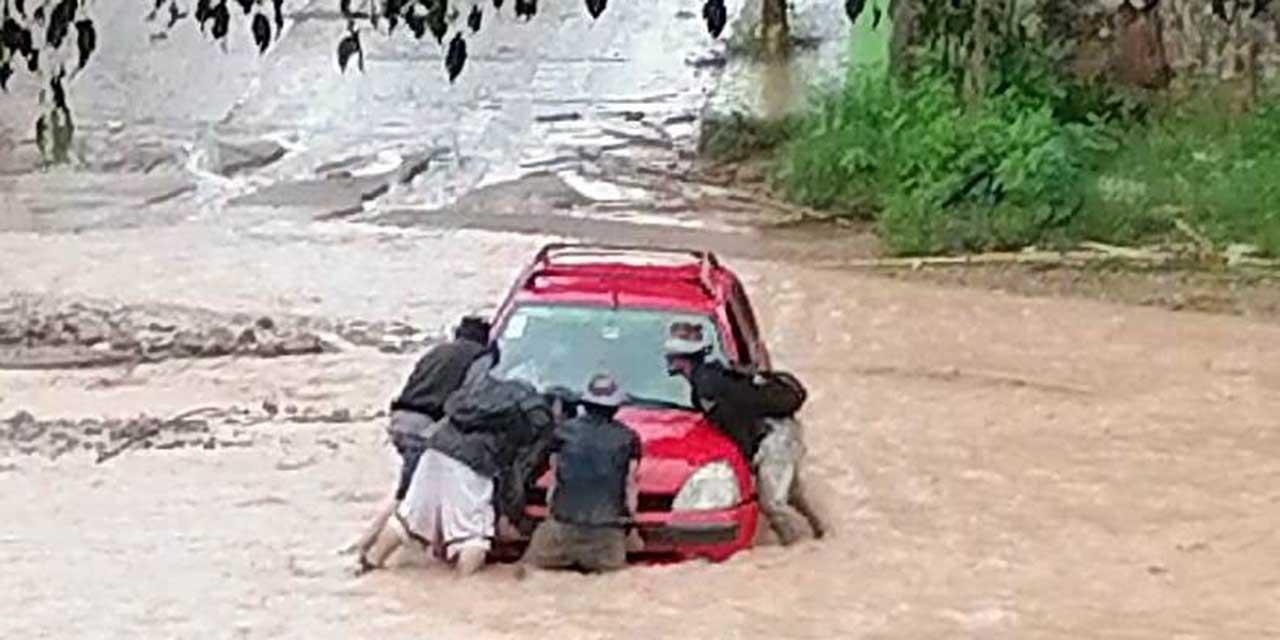 Río Salado un peligro por las lluvias | El Imparcial de Oaxaca