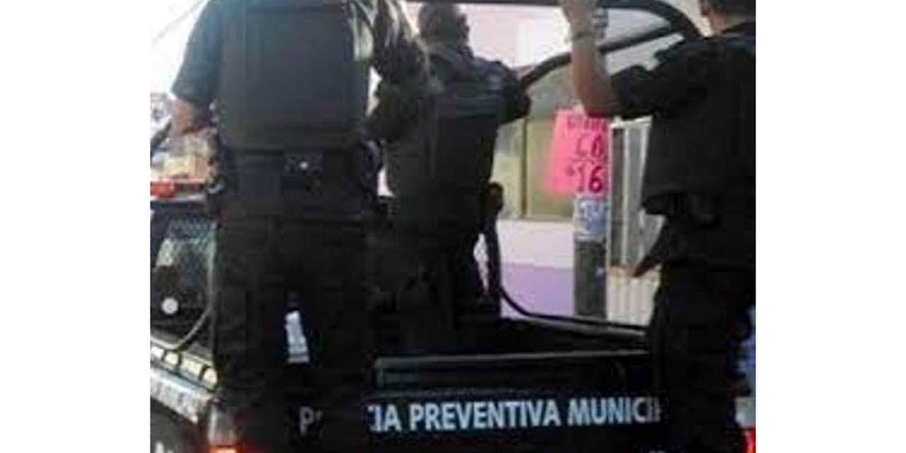 Taxista foráneo conducía ebrio por la Colonia Merced de Huajuapan | El Imparcial de Oaxaca