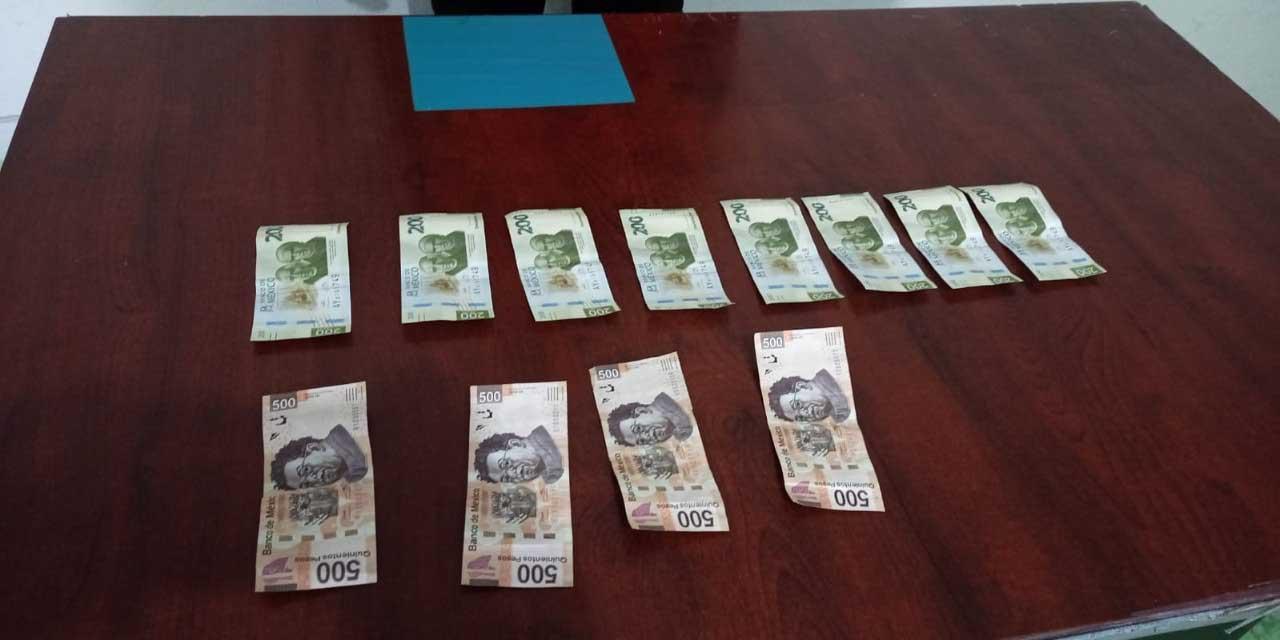 Detienen a un sujeto de Zaachila con billetes falsos | El Imparcial de Oaxaca