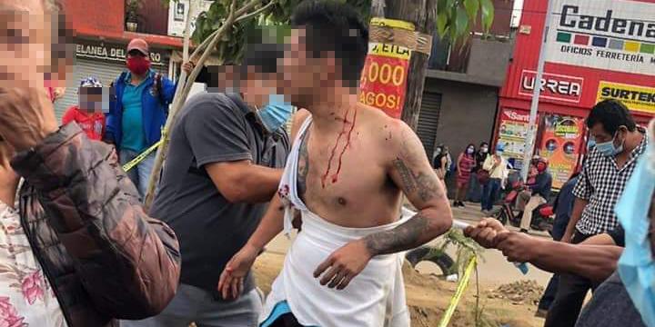 Le dan escarmiento a ladrón de celulares en la Central de Abasto | El Imparcial de Oaxaca