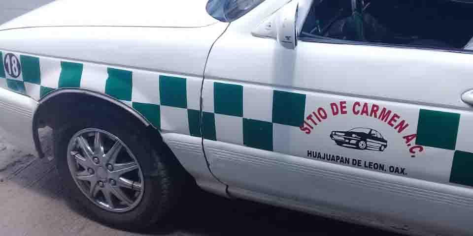 Piden viaje y atracan taxi en Huajuapan de León   El Imparcial de Oaxaca