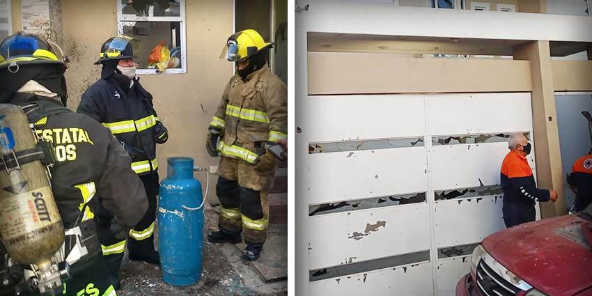 Siguen los atentados con explosivos, artefacto provoca explosión en un domicilio en Puebla   El Imparcial de Oaxaca