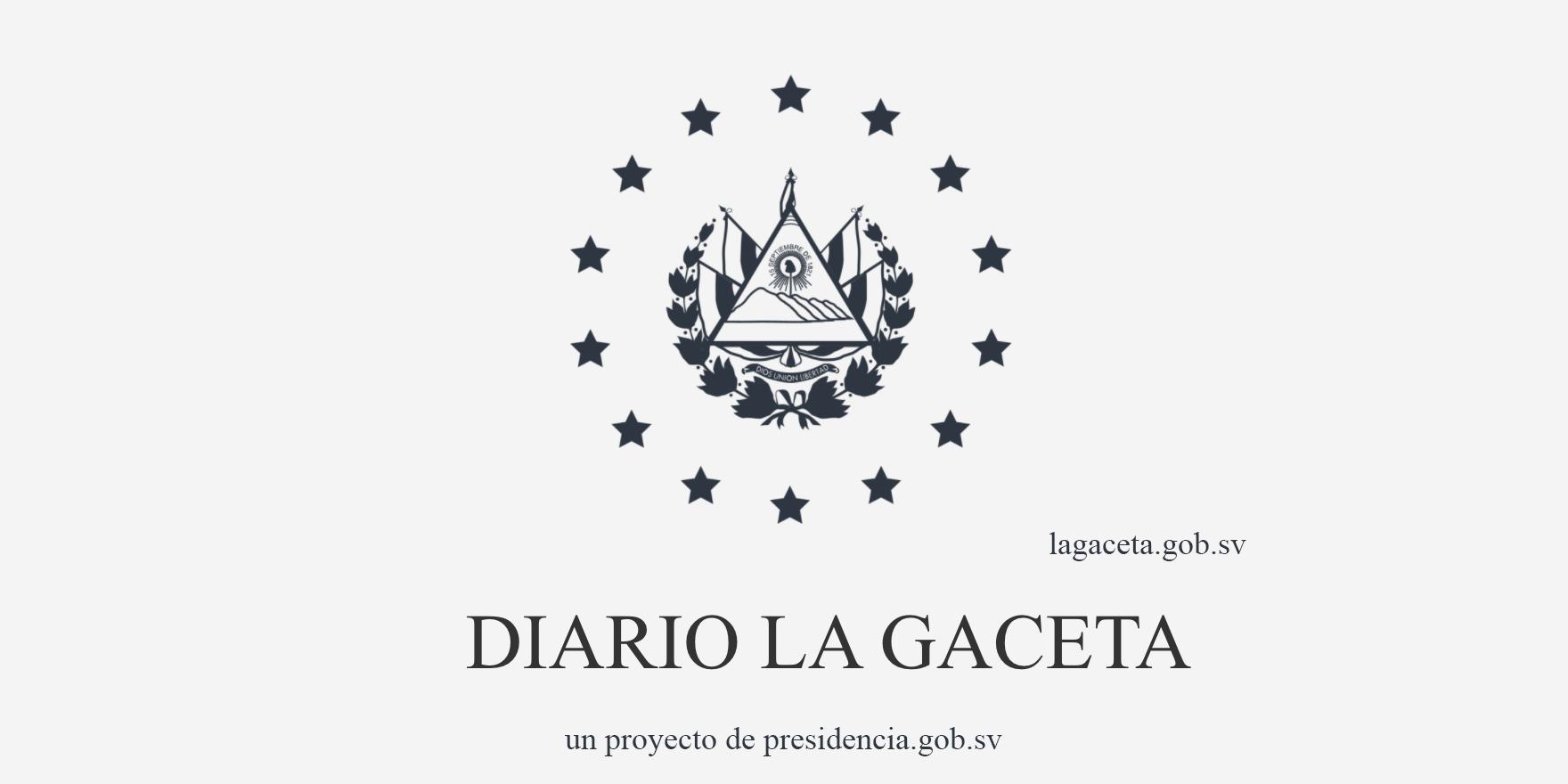 Diario Gubernamental de presidencia El Salvador La Gaceta   El Imparcial de Oaxaca