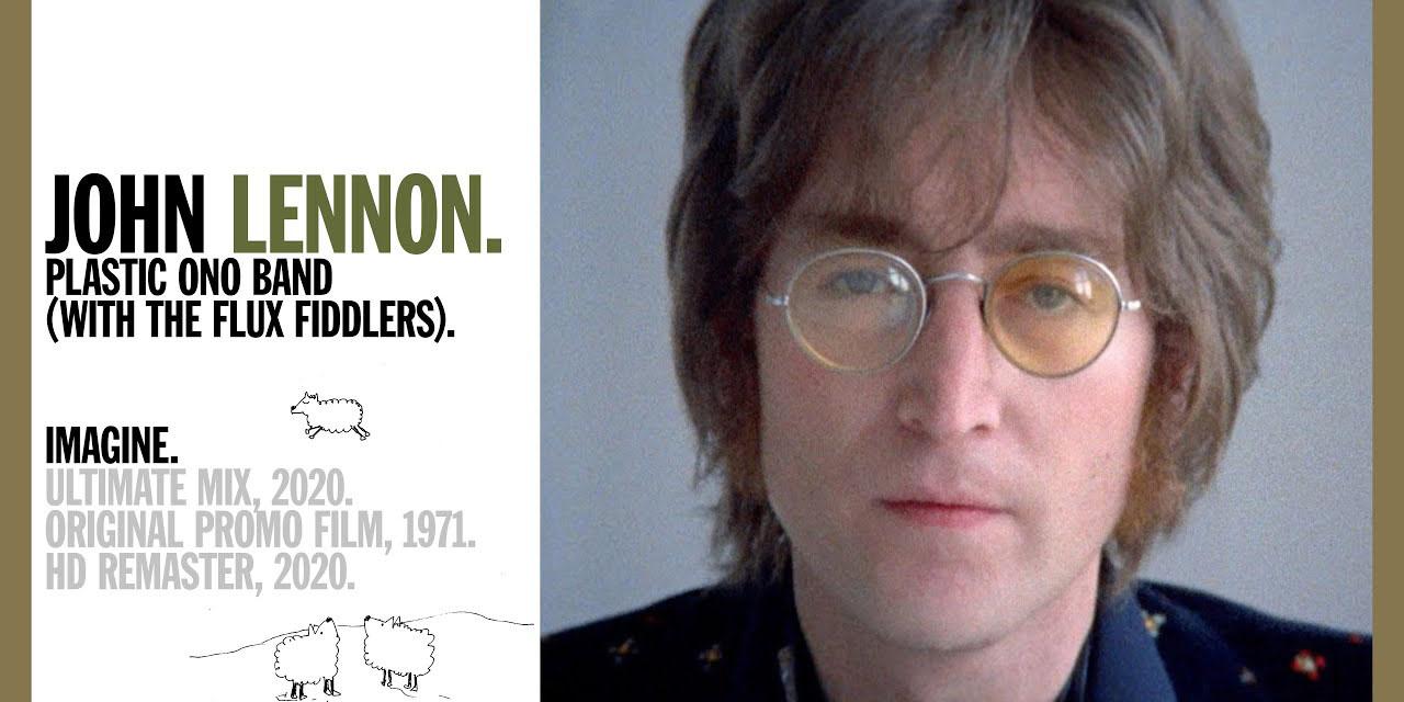 Proyectan letra de 'Imagine', de John Lennon, en edificios de todo el mundo por 50 aniversario | El Imparcial de Oaxaca