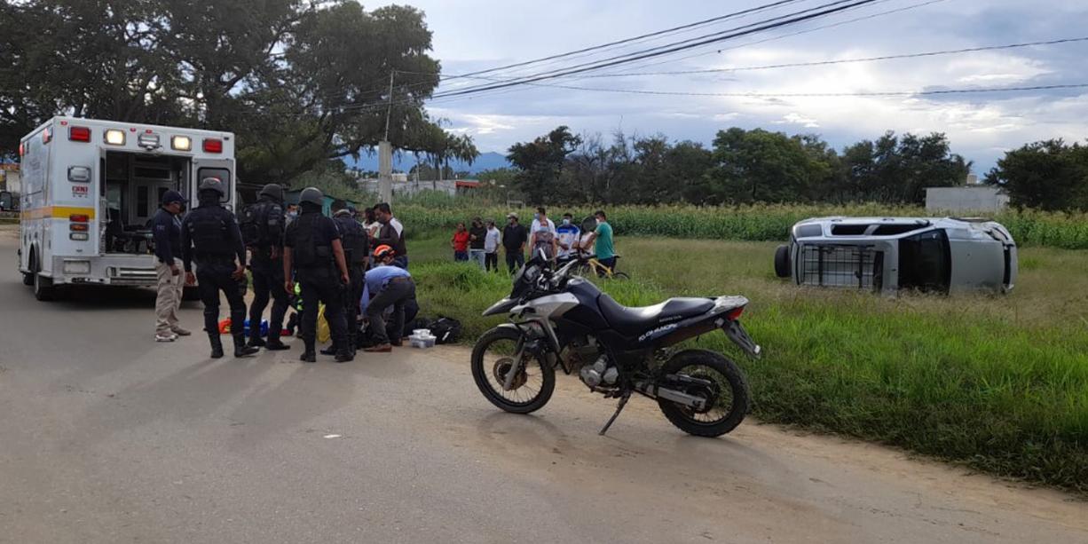 Ebrio embiste a ciclista y vuelca en su huída en Santa Cruz Xoxocotlán   El Imparcial de Oaxaca