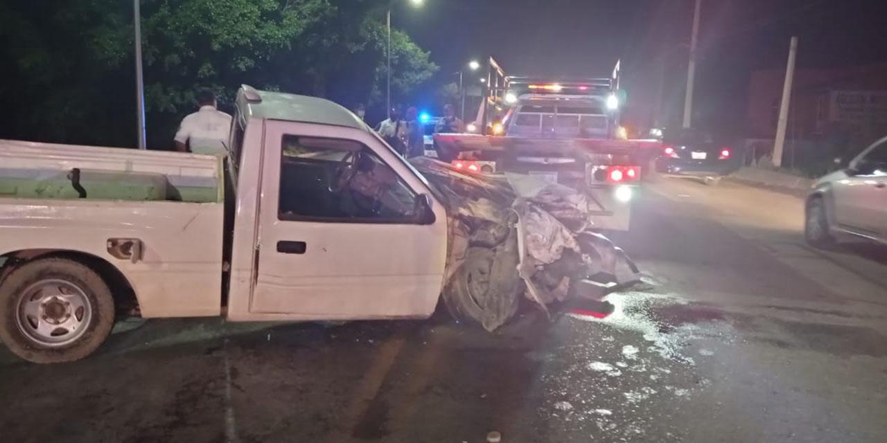 Conductor ebrio colisiona en Riberas del Atoyac   El Imparcial de Oaxaca
