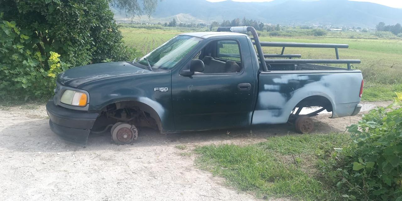 Recuperan camioneta robada | El Imparcial de Oaxaca