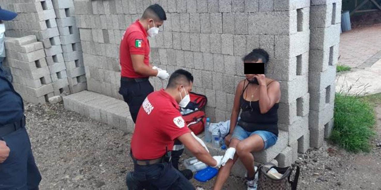 Motociclista se accidenta en Huajuapan | El Imparcial de Oaxaca