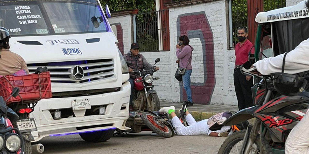 Atropellan a motociclista en Fraccionamiento Montoya   El Imparcial de Oaxaca
