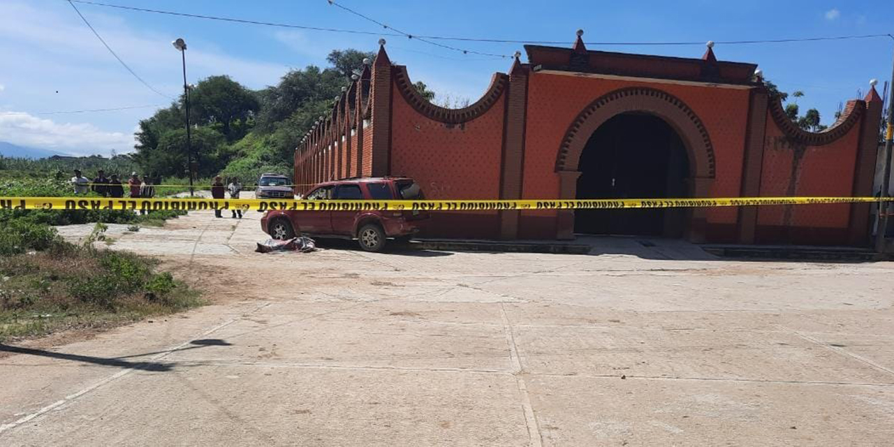 Ultimado con 'plomo' en Zimatlán   El Imparcial de Oaxaca