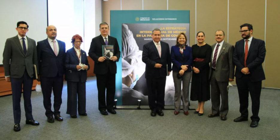 Ebrad presentó el libro 'La estrategia internacional de México en la pandemia de COVID19' | El Imparcial de Oaxaca