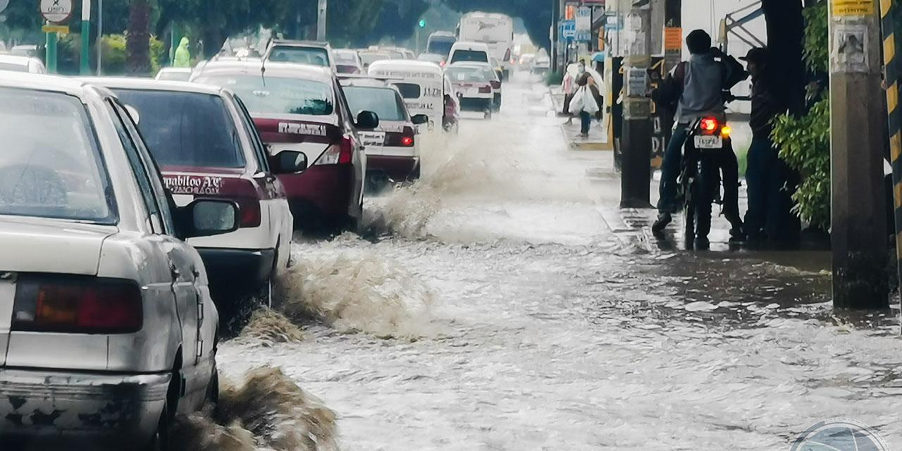 Lluvias dejan apagones y encharcamientos en Oaxaca | El Imparcial de Oaxaca