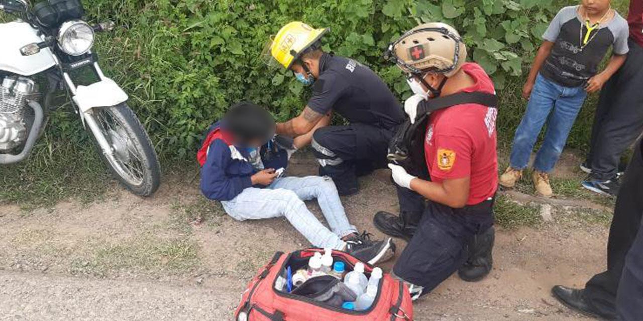 Violenta colisión de motociclistas en Huajuapan   El Imparcial de Oaxaca