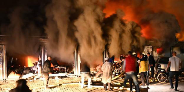 Incendio en hospital covid de Macedonia del Norte; el saldo, 10 muertos | El Imparcial de Oaxaca