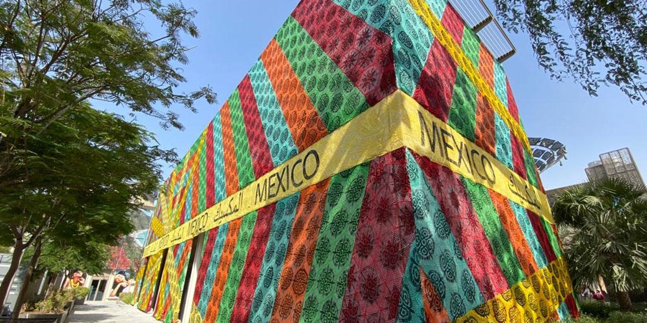 'Tejedoras de lazos' cubre el pabellón México en la Expo Dubái | El Imparcial de Oaxaca