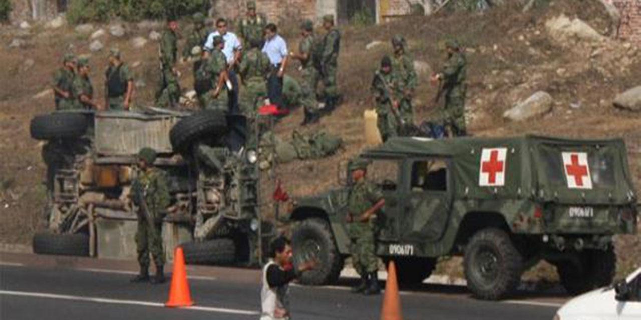 En Oaxaca mueren más militares por accidentes | El Imparcial de Oaxaca