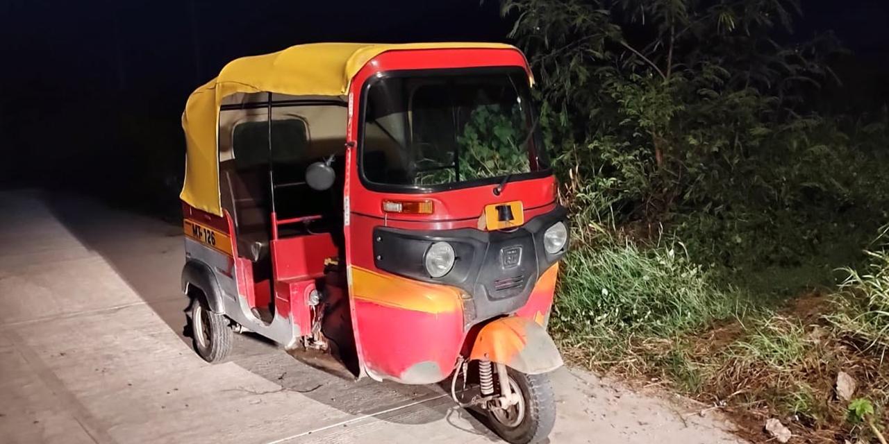Recuperan mototaxi robado en Juchitán   El Imparcial de Oaxaca