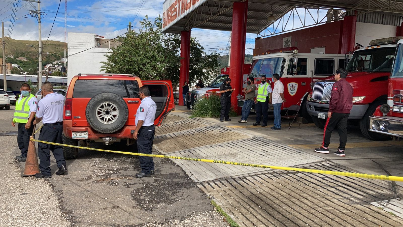 Fallece menor en la estación Norte de bomberos   El Imparcial de Oaxaca